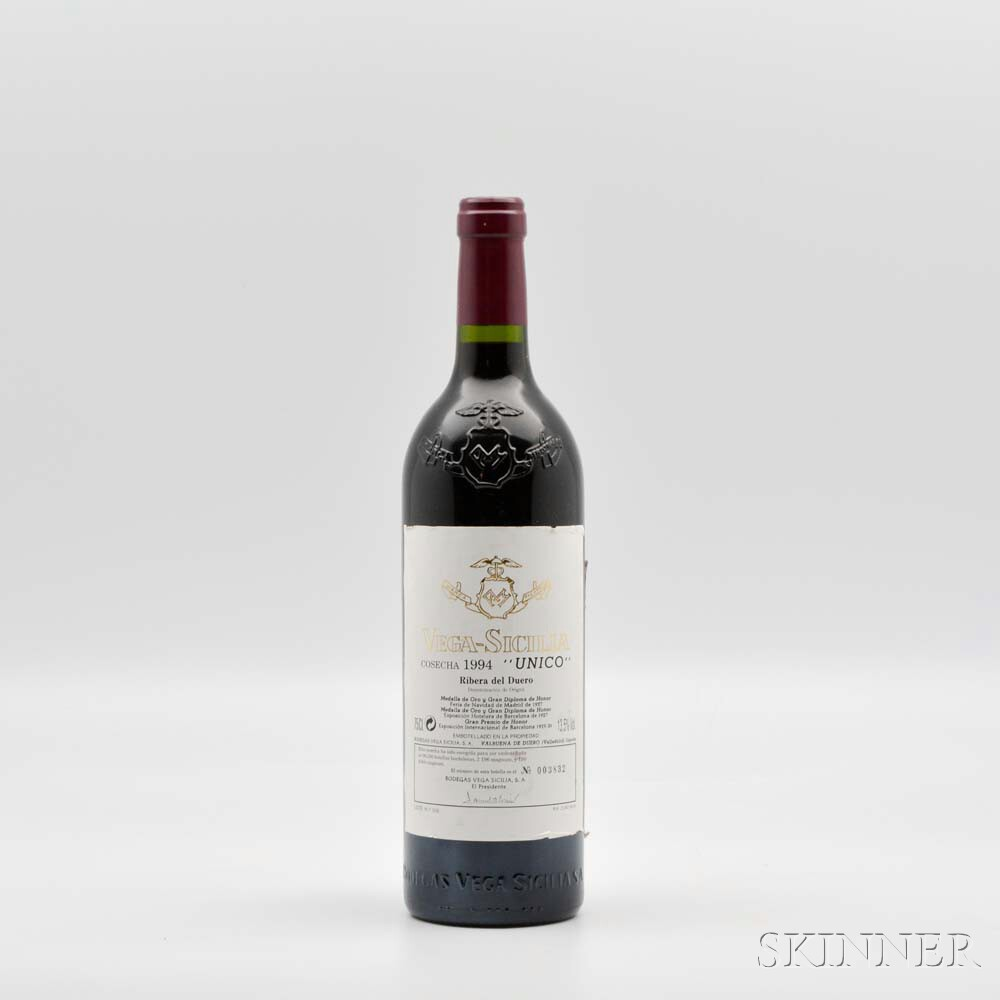 Vega Sicilia Unico 1994, 1 bottle