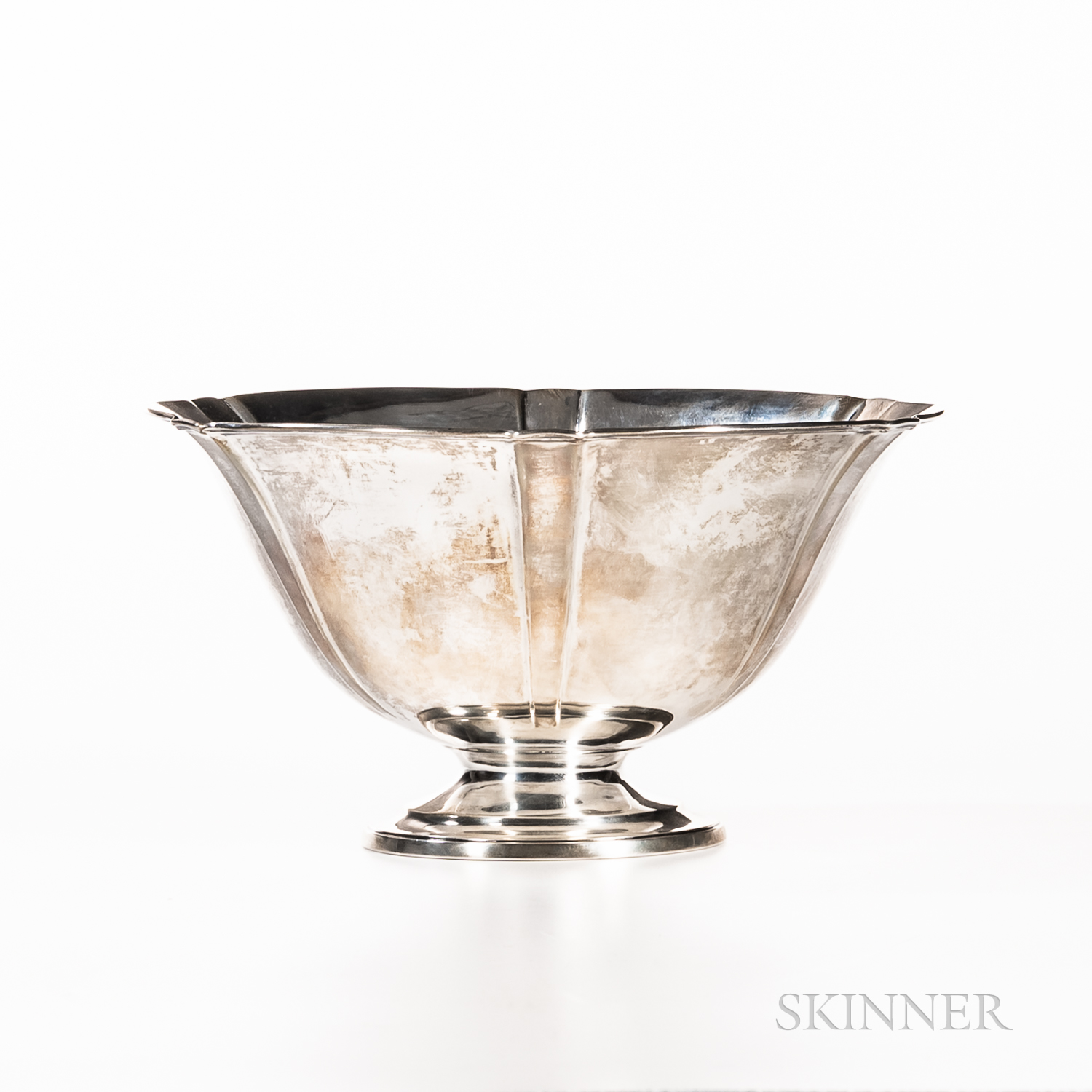 Arthur J. Stone Sterling Silver Footed Bowl