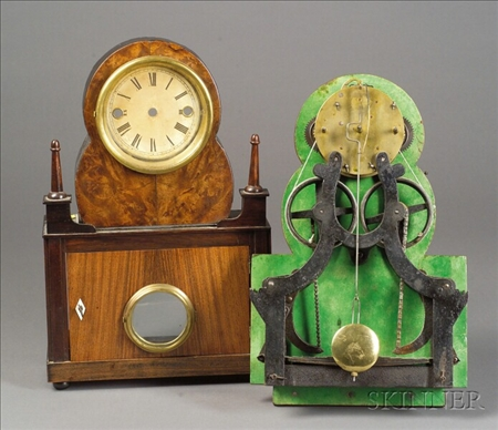 """Ives """"Lever Spring"""" Timepiece"""
