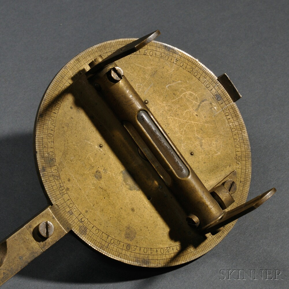 Early American Artillery Sighting Instrument