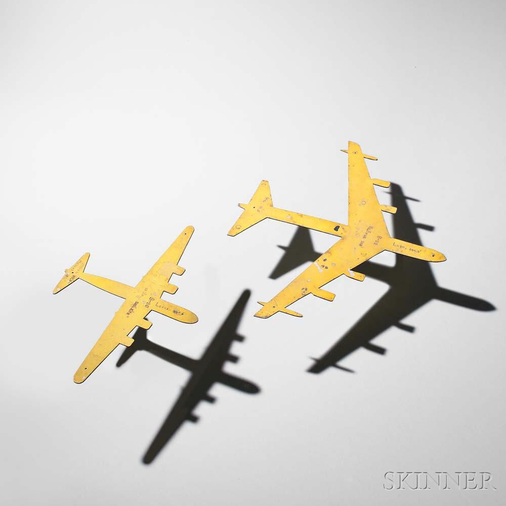 Sheet Aluminum Bomber Silhouette Models