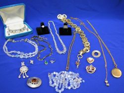Small Group of Costume Jewelry.