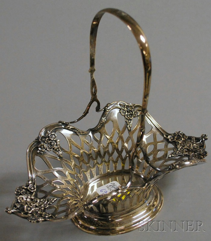 Tiffany Sterling Silver Reticulated Basket