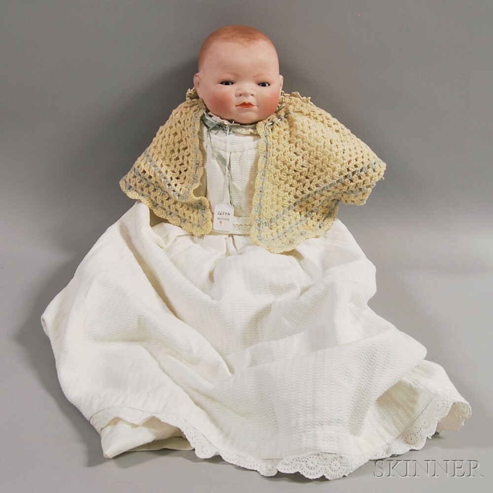 Large Grace Storey Putnam Bye-Lo Bisque Baby