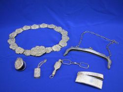 Group of Silver and Silver Plate Articles