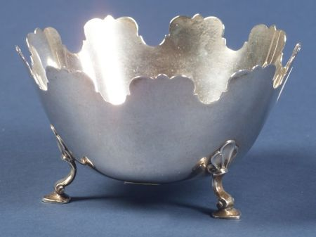 Small Tiffany & Co. Sterling Monteith-style Bowl