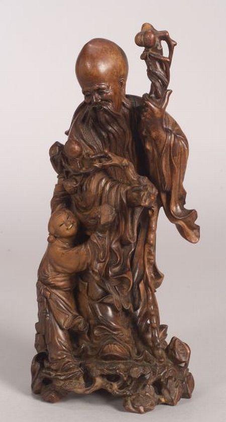 Hardwood Carving