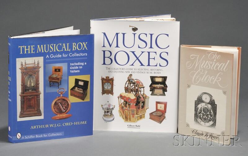 Three Titles on Mechanical Music and Clocks