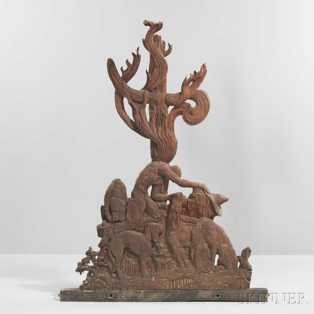 Mary Ogden Abbott (1894-1981) Sculptural Panel