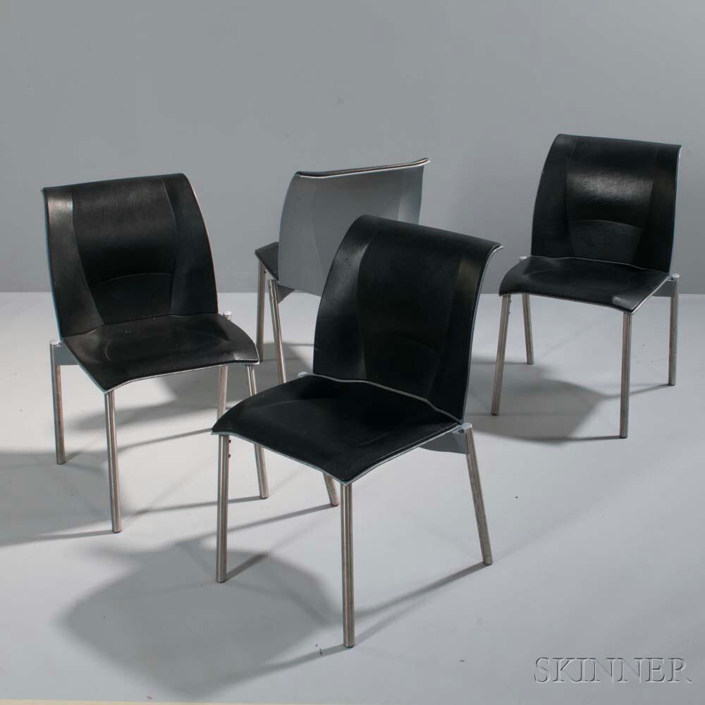 Four Frank Gehry Fog Chairs