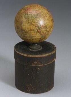 3-Inch Terrestrial Globe by Joseph Schedler