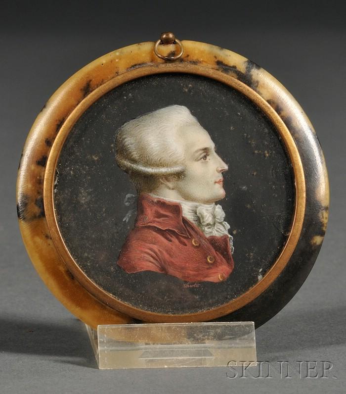 Portrait Miniature of a Gentleman