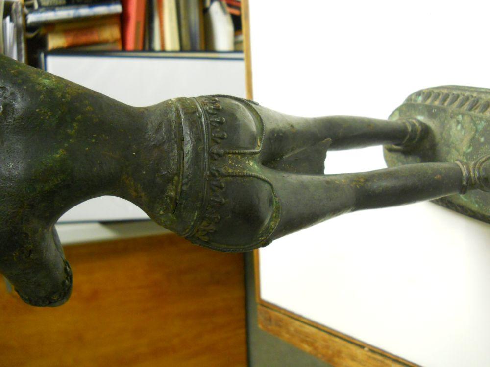 Bronze Figure of a Female Deity, Possibly Maya Devi