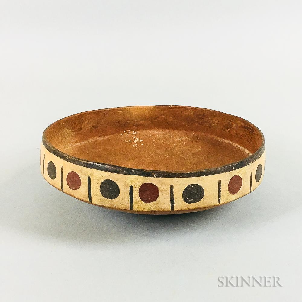 Pre-Columbian Pottery Bowl