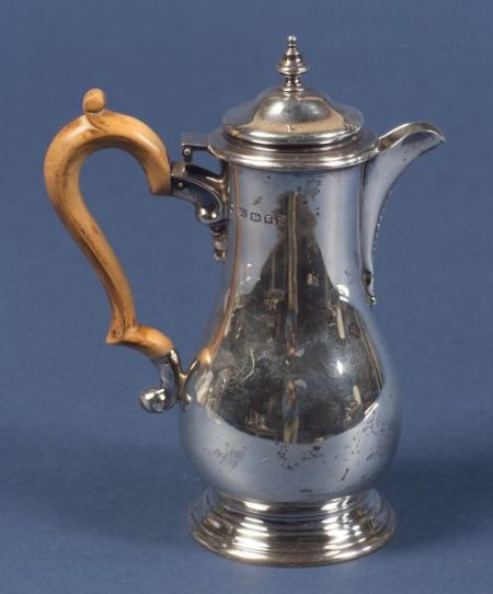 George V Silver Hot Water Pot