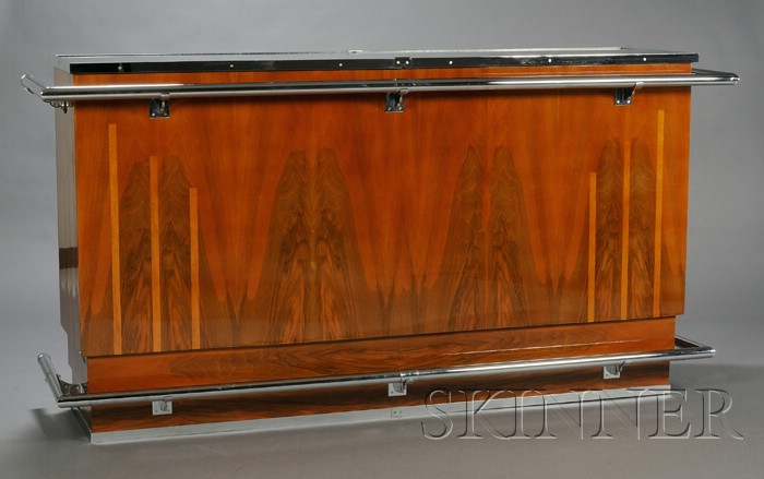 Art Deco Bar with Mirror