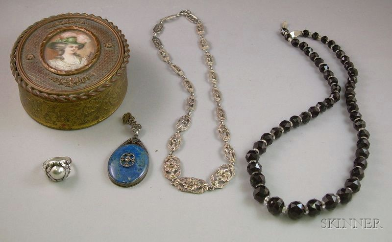 Group of Estate Sterling Silver and Other Jewelry