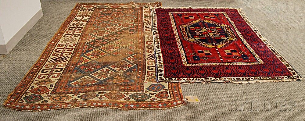 Two Oriental RugsTwo Oriental Rugs