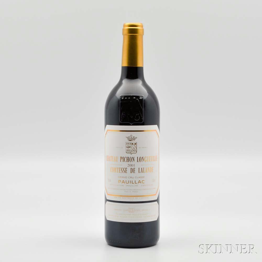 Chateau Pichon Lalande 2001, 1 bottle