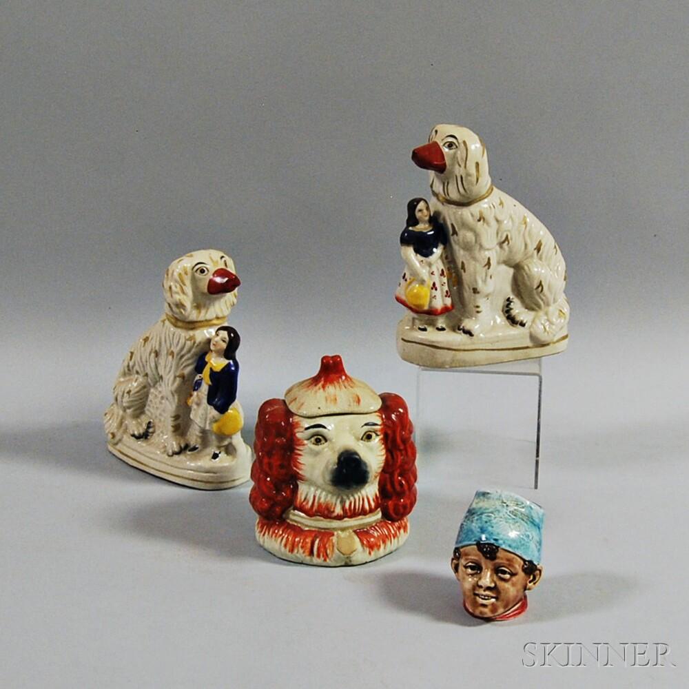 Four English Ceramic Items
