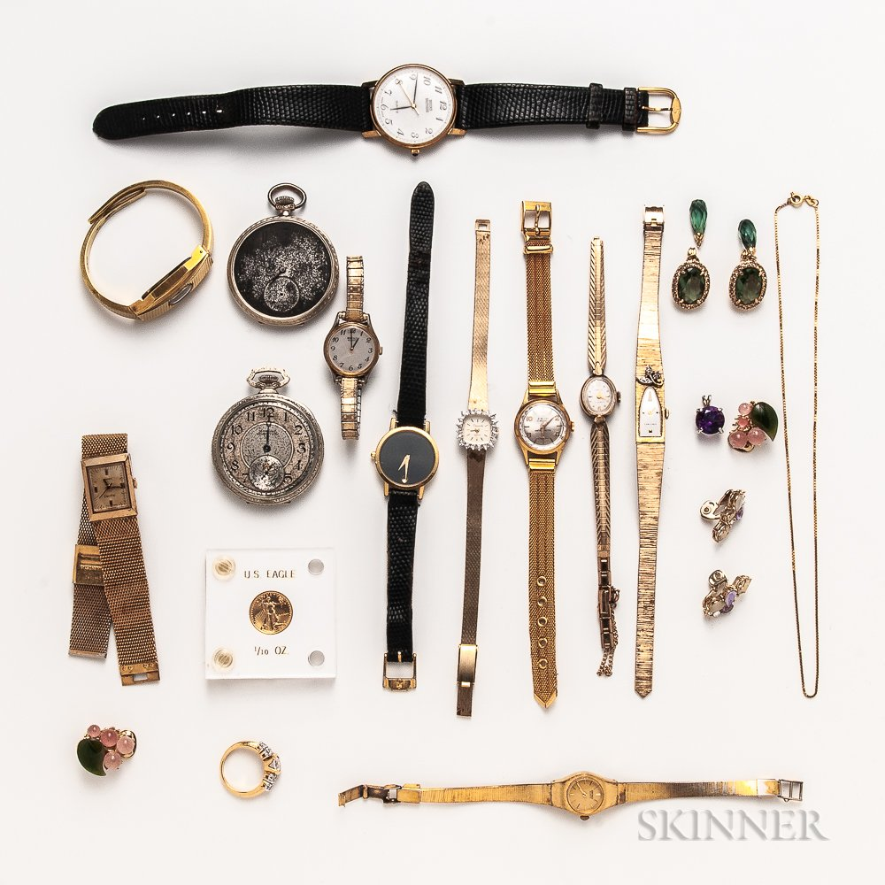 Group of Lady's Watches and Accessories