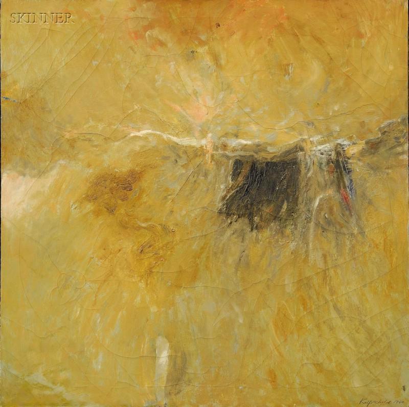 Robert Knipschild (American, 1927-2004)      Black Field