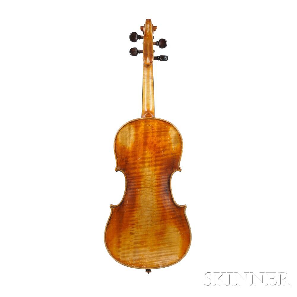 child 39 s 3 4 size german violin markneukirchen 1929 sale number 2767b lot number 162. Black Bedroom Furniture Sets. Home Design Ideas