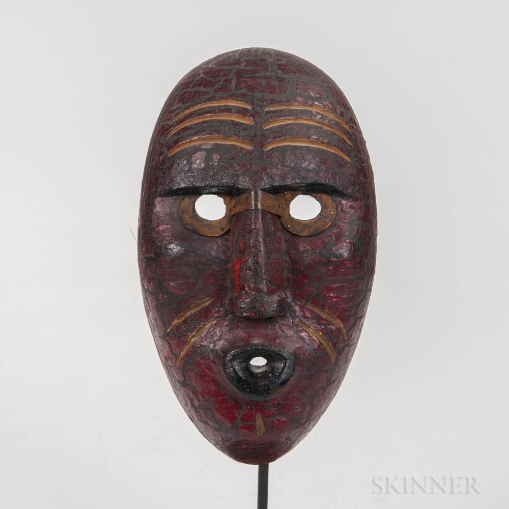 Northeast Painted Wood Mask