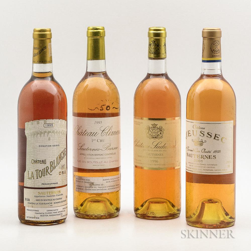 Mixed Sweet Bordeaux Wine, 4 bottles