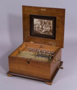 Polyphon 14 1/2-Inch Bells Disc Musical Box