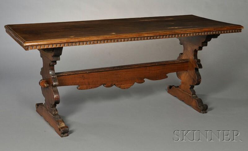 Italian Trestle Table