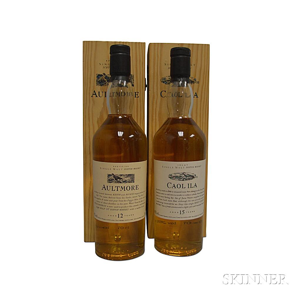 Mixed Single Malt Scotch, 2 700ml bottles