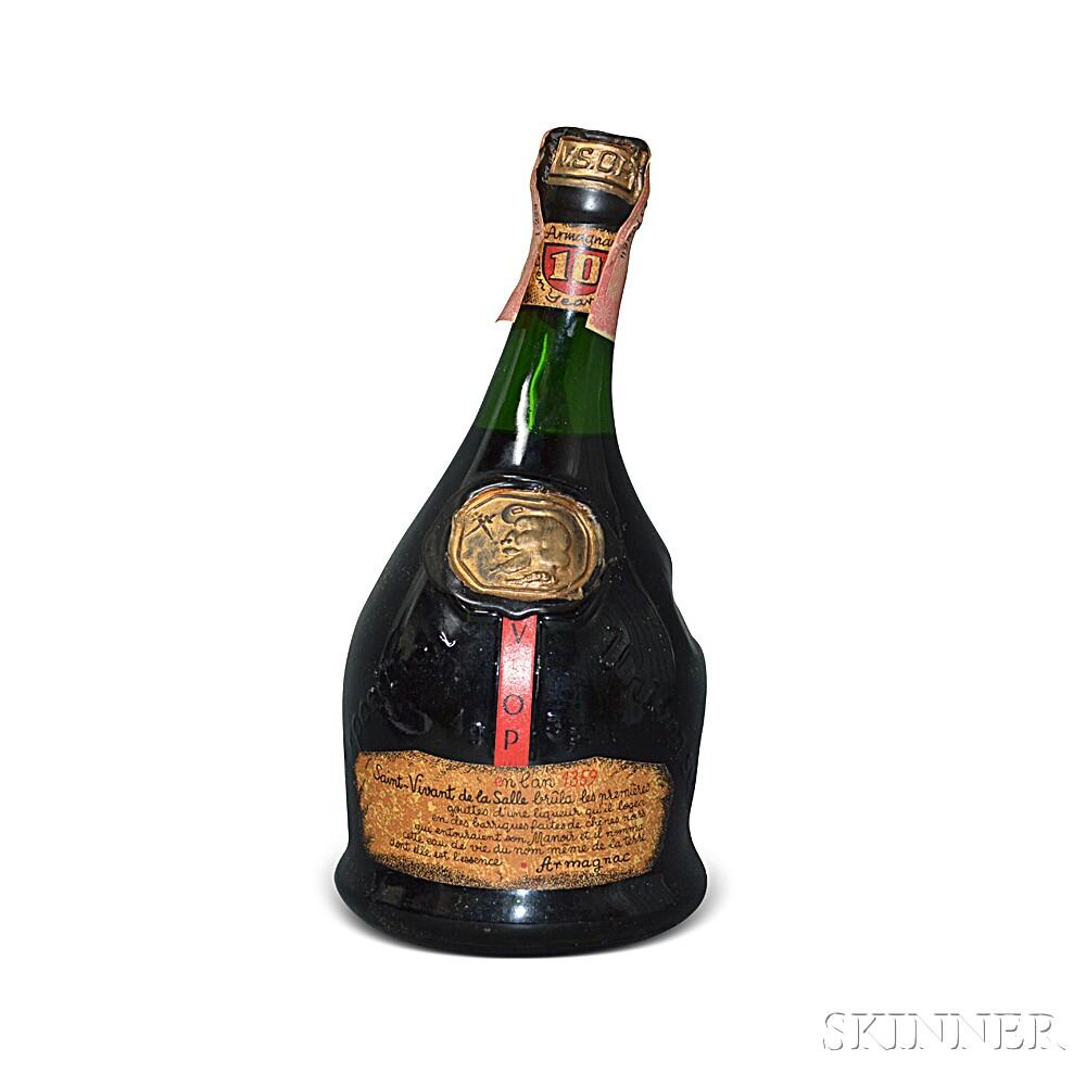 Saint Vivant VSOP 10 Years Old, 1 4/5 quart bottle