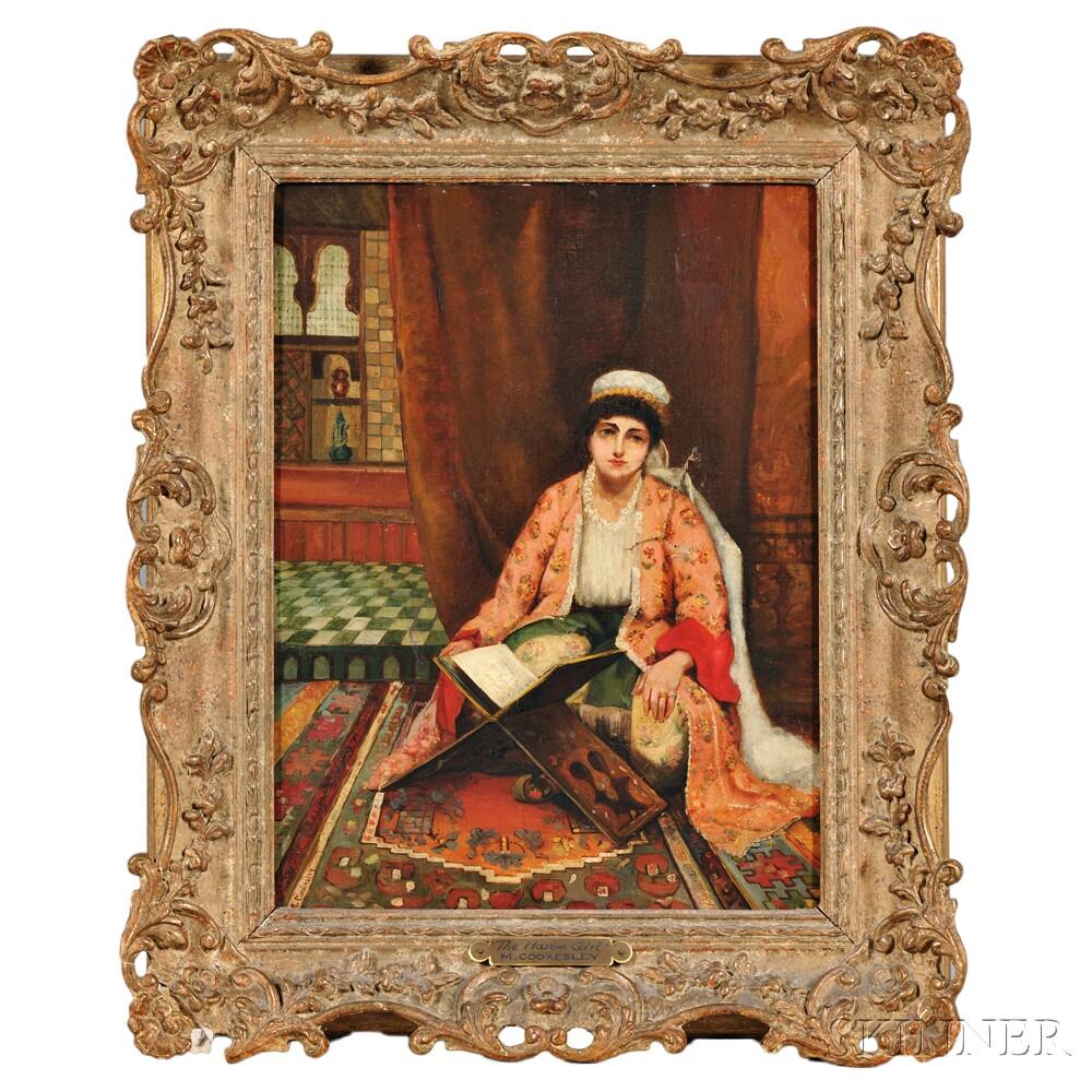 Margaret Murray Cookesley (British, c. 1850-1927)      The Harem Girl