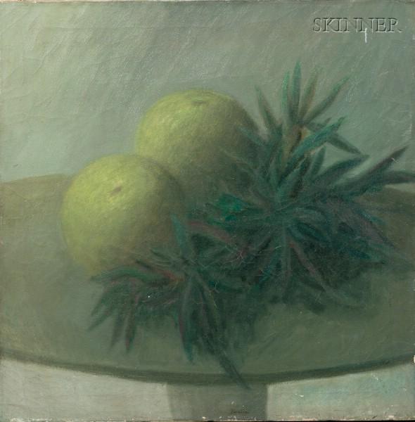 Robert Kipness (American, b. 1931)      Still Life with Grapefruit