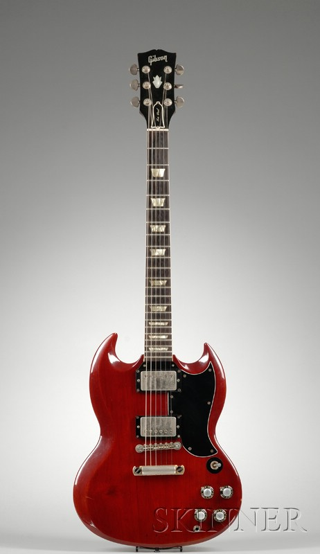 American Electric Guitar, Gibson Incorporated, Kalamazoo, c. 1961, Model Les Paul