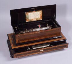 Interchangeable Musical Box By Paillard