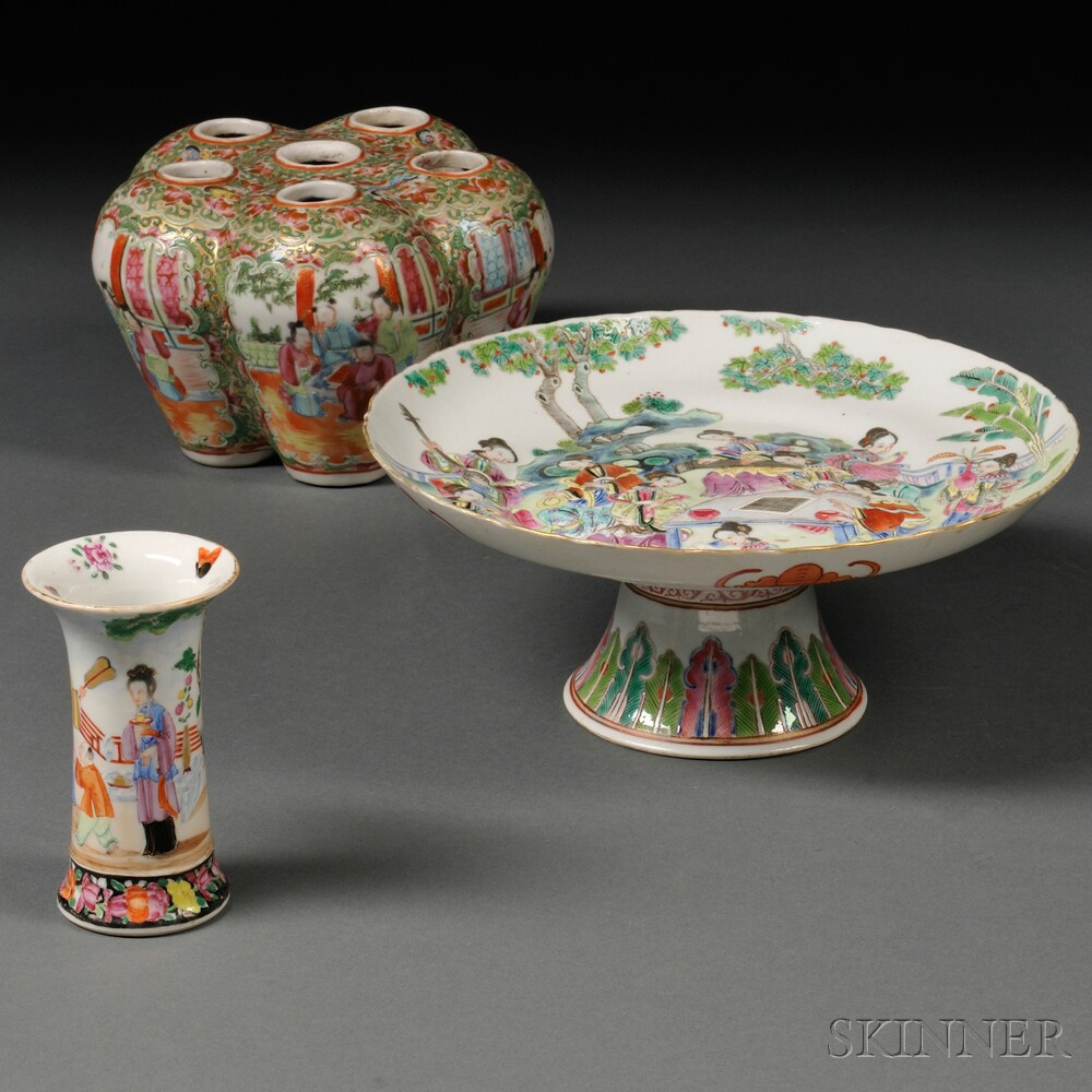 Three Porcelain Items
