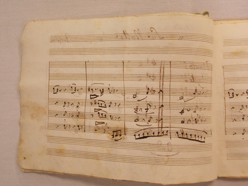 Rossini, Gioacchino (1792-1868) Autograph Musical Manuscript, Signed, with a Signed Photograph, c. 1861.