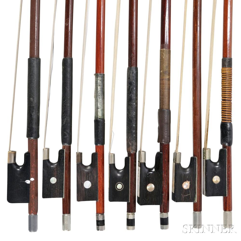 Seven Violin Bows
