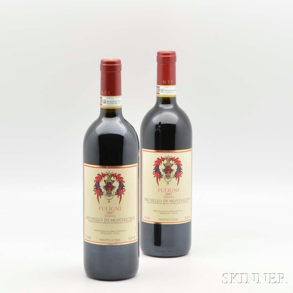 Fuligni Brunello di Montalcino Riserva 2007, 9 bottles