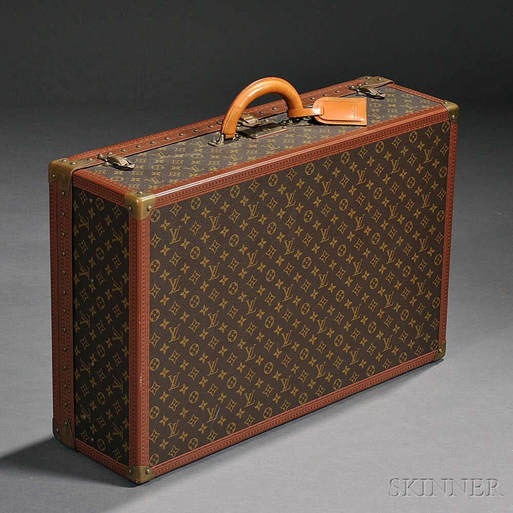 1576e69d7d34 Louis Vuitton Leather and Coated Canvas Hard-side Suitcase ...