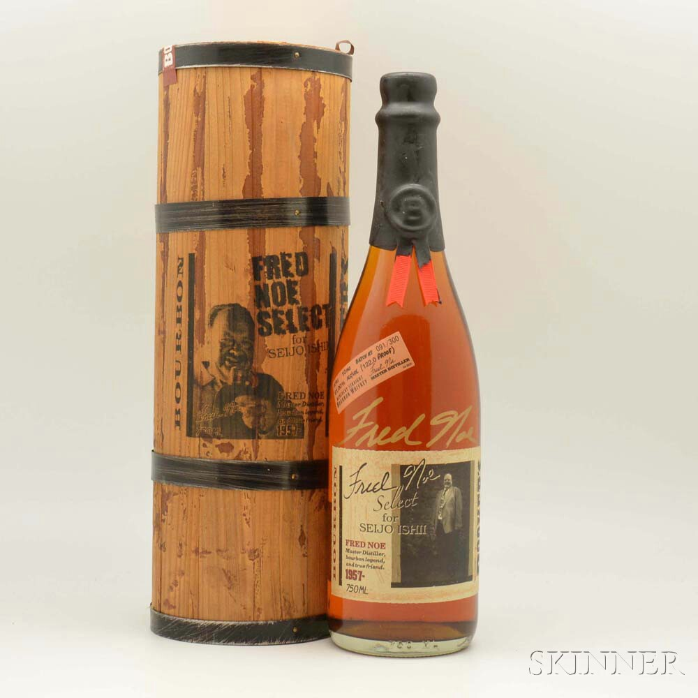 Bookers Fred Noe Select 6 Years Old, 1 750ml bottle (owc)