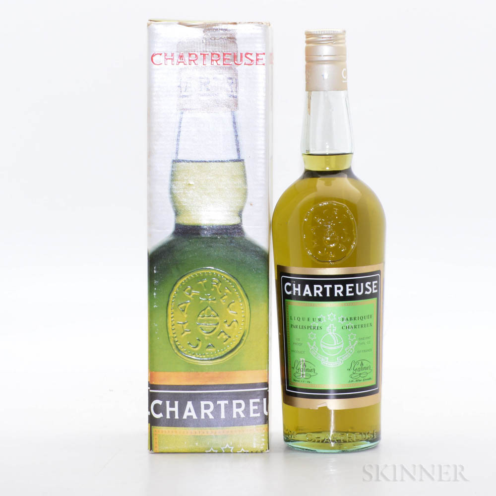 Green Chartreuse, 1 23.6oz bottle (oc)