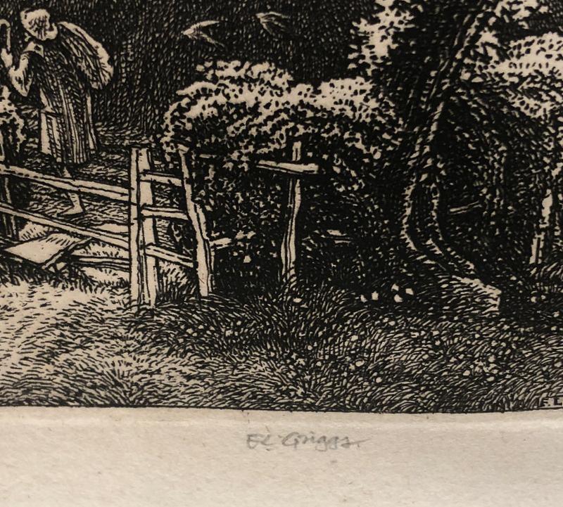 Frederick Landseer Maur Griggs (British, 1876-1938)      St. Ippolyts