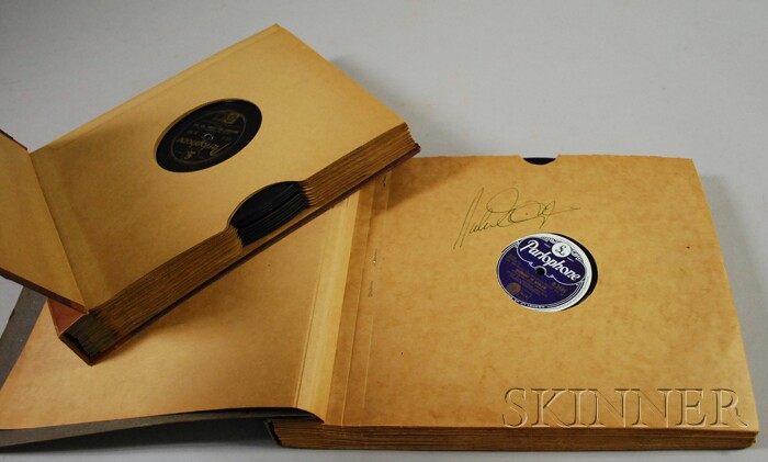 Duke Ellington Autographed Collection of Parlophone 78 RPM Records
