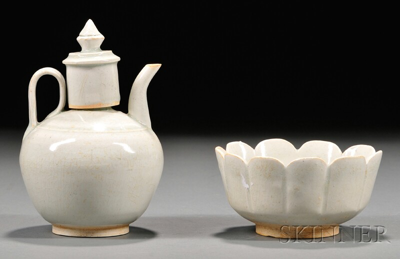 Wine Ewer and Warming Bowl