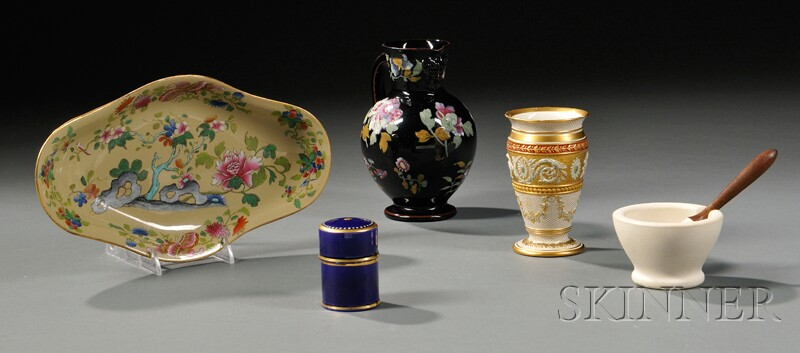 Five Assorted Wedgwood Items