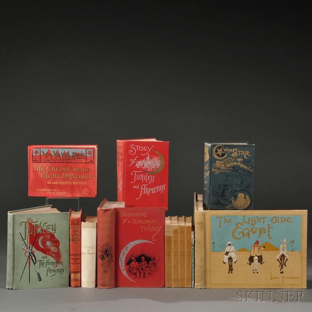 Turkey, Armenia, Egypt, 20th Century Works, and Others, Thirteen Volumes.