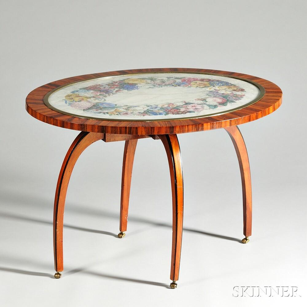 Beidermeier-style Table